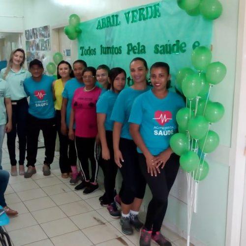 Saúde de Vera Mendes realiza atividades em alusão à campanha Abril Verde