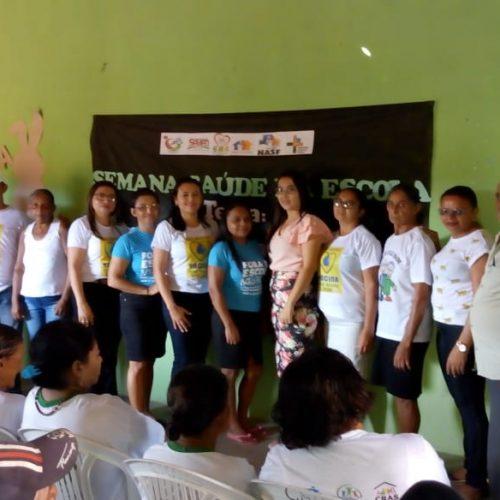 Vera Mendes encerra Semana Saúde na Escola orientando pais sobre importância da vacinação