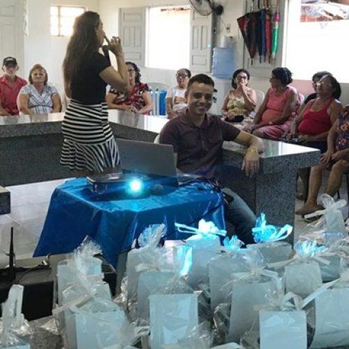 Assistência Social de Caridade do Piauí promove palestra para idosos do Serviço de Convivência