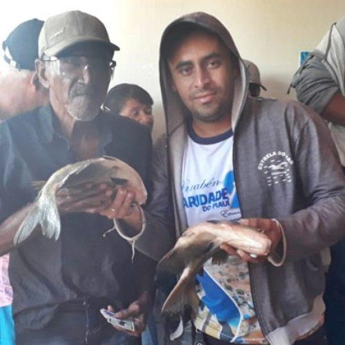 Assistência Social de Caridade do Piauí realiza distribuição de peixes aos moradores
