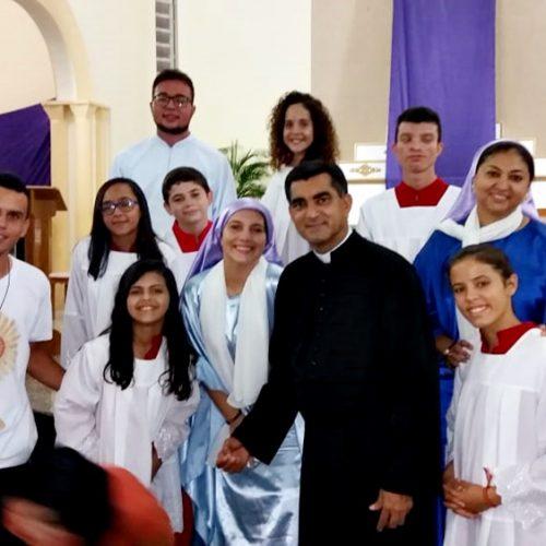 Grupo EJC de Pio IX encena Via Sacra e fiéis participam da Procissão do Senhor Morto; veja vídeo