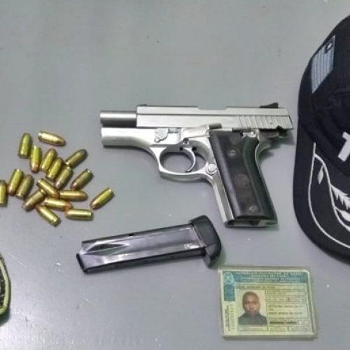Homem é conduzido por porte ilegal de arma em São João da Canabrava