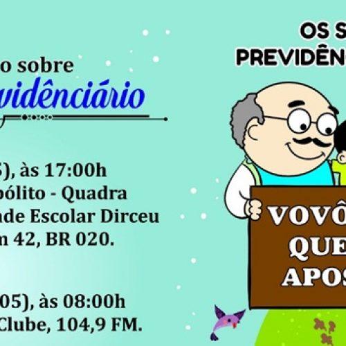 Alunos de Direito da Uninovafapi apresentarão cartilha sobre previdência social em Jaicós e Monsenhor Hipólito