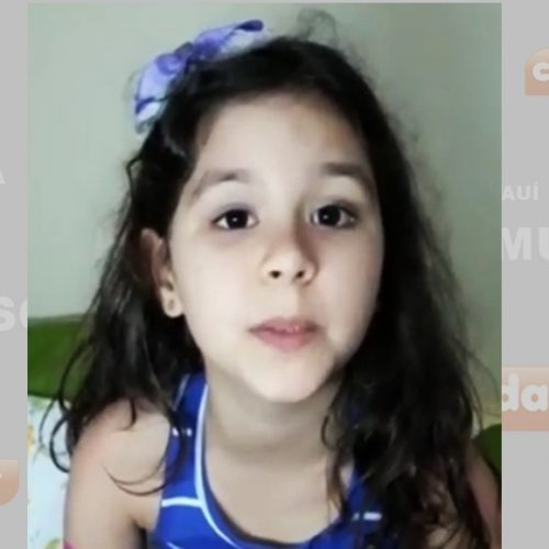 """Garotinha de oito anos suplica no Piauí: """"Por favor, governador, nos dê insulina"""""""