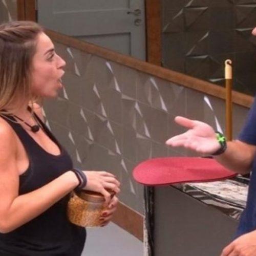BBB19: Paula fica furiosa ao ser indicada para o paredão por Alan e vai tirar satisfação