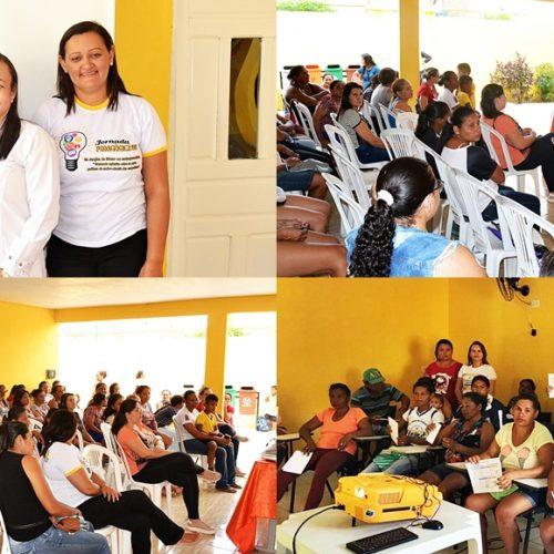 Secretaria de Saúde de Curral Novo realiza evento em Escolas do Município