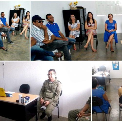 Educação de Francisco Macedo realiza reunião com policiais e servidores sobre segurança nas escolas