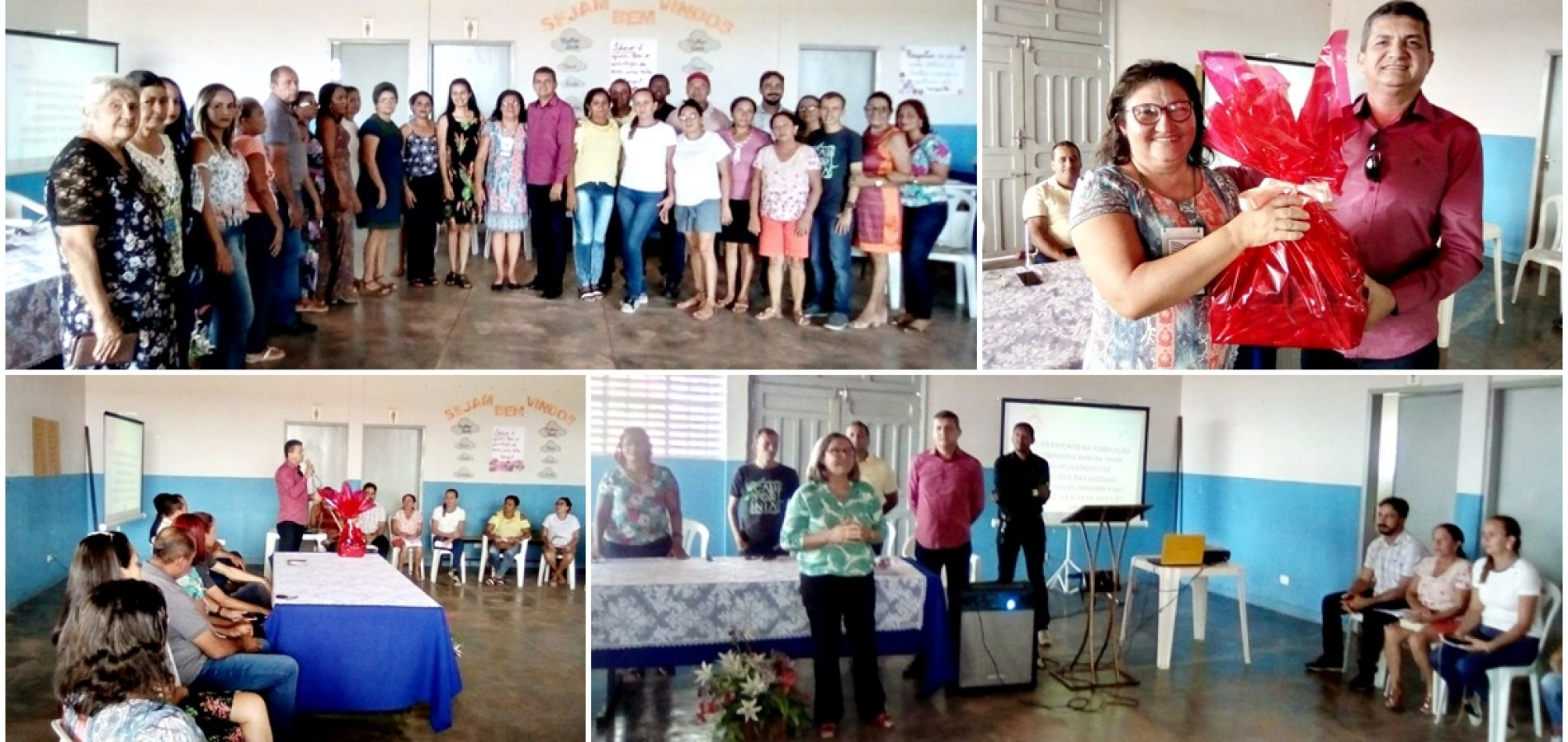 Educação de Inhuma promove capacitação para merendeiras e entrega kits de EPI