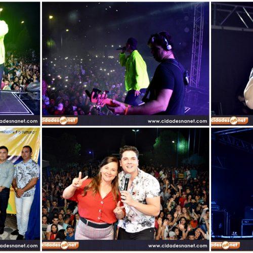 FOTOS│Shows da Banda A Loba, Eric Land e Gêmeos do Forró encerram o 27º aniversário de Santana do Piauí