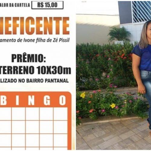 SUSSUAPARA│Família de Ivone faz bingo de terreno para custear tratamento; adquira sua cartela!