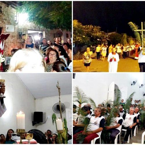 Procissão e missa marcam início da Semana Santa em Bocaina