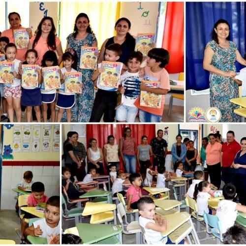 Educação de Vila Nova entrega fardamento e livros novos para alunos da Rede Municipal de Ensino