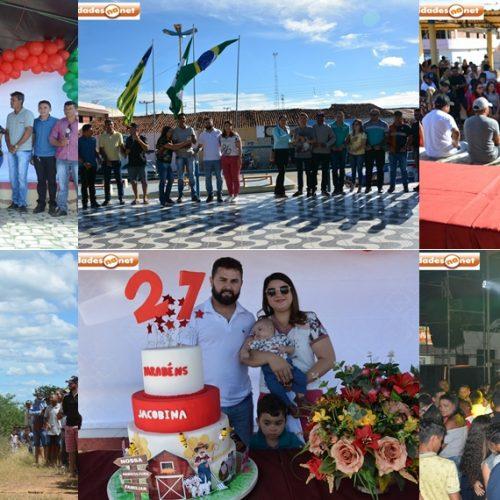 Jacobina do Piauí comemora 27 anos de emancipação política; veja como foi