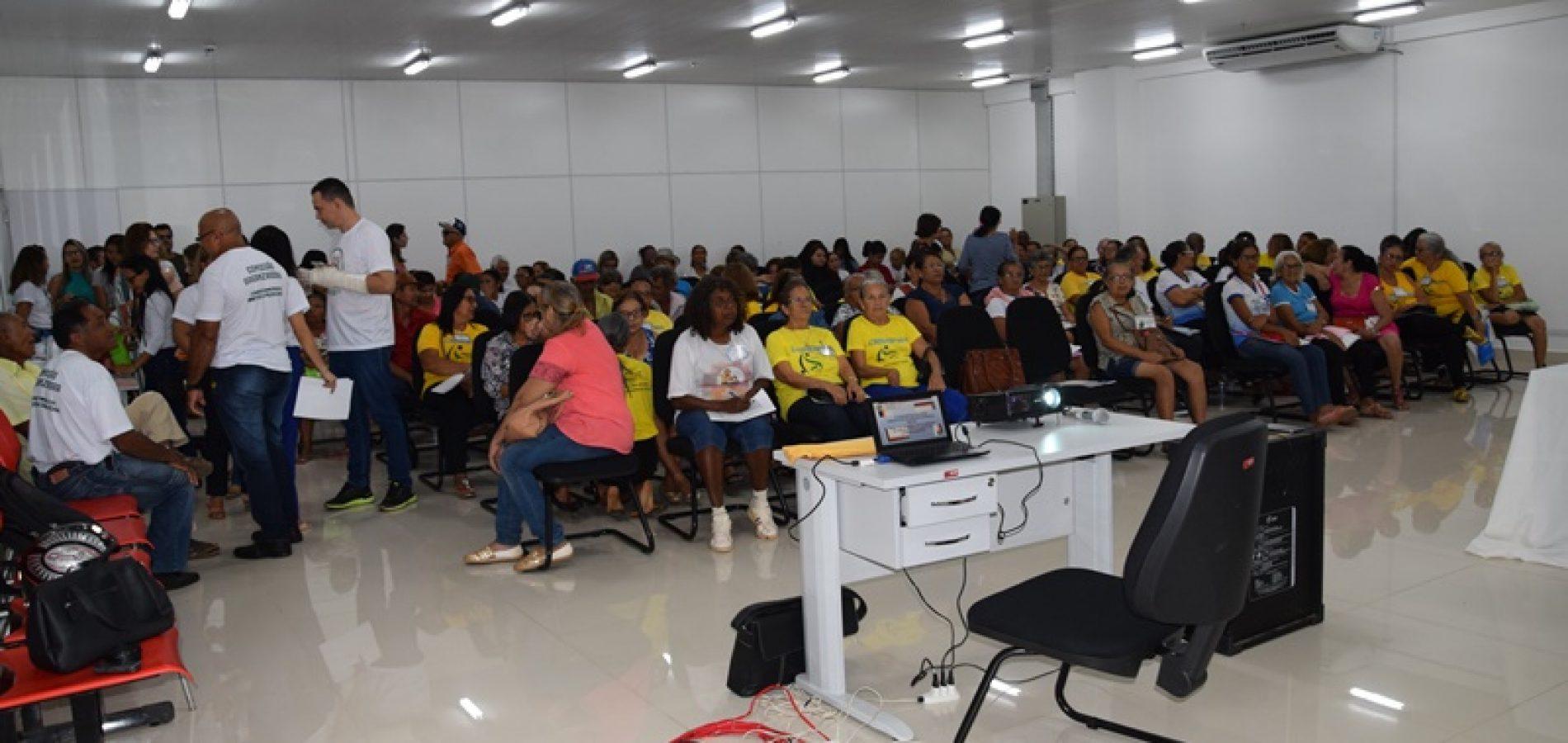 PICOS | III Conferência Municipal dos Idosos surpreende organizadores com número de participantes