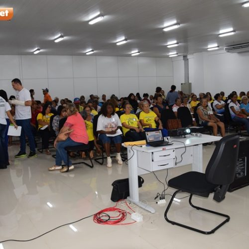 PICOS   III Conferência Municipal dos Idosos surpreende organizadores com número de participantes