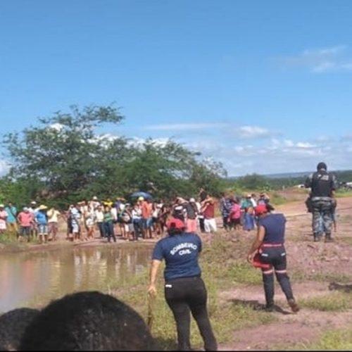Corpo de jogador de futebol é encontrado dentro de barragem no Piauí