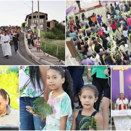 Benção dos ramos, procissão e missa abrem Semana Santa em Jaicós; Fotos!
