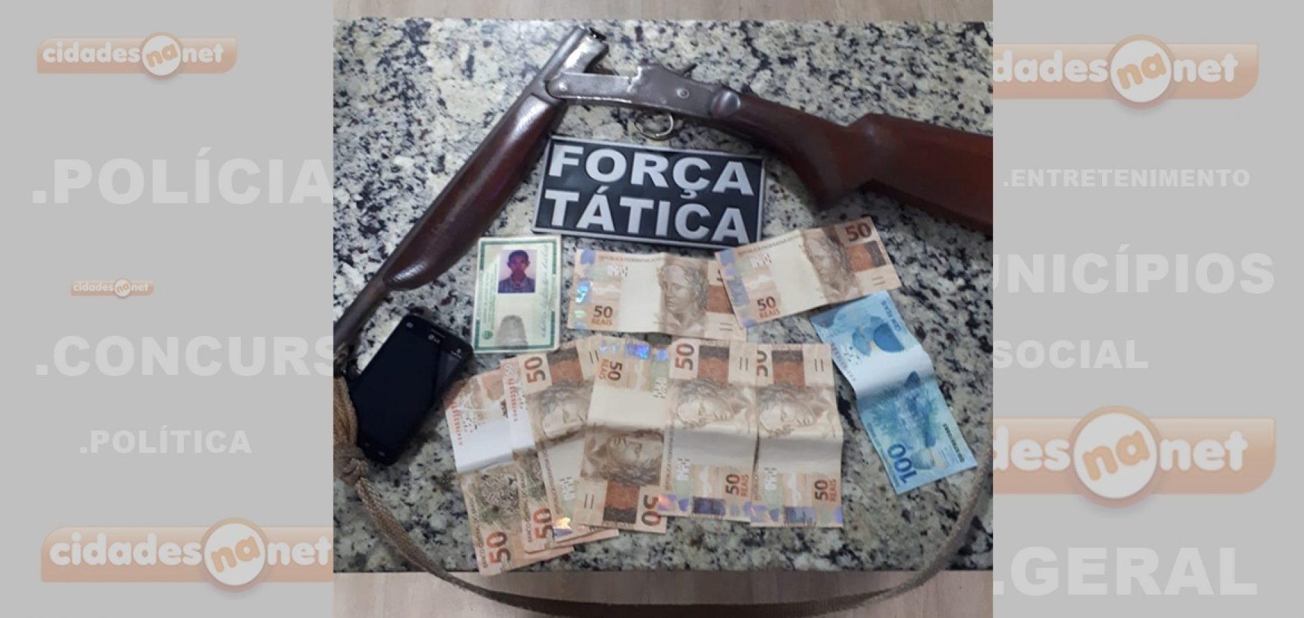 Homem é preso em ônibus intermunicipal com dinheiro falso e  levado à PF