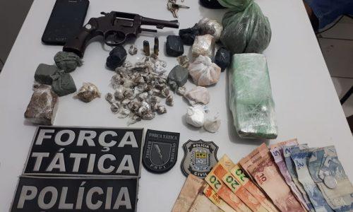 Foragido da Justiça é preso com grande quantidade de drogas no Piauí