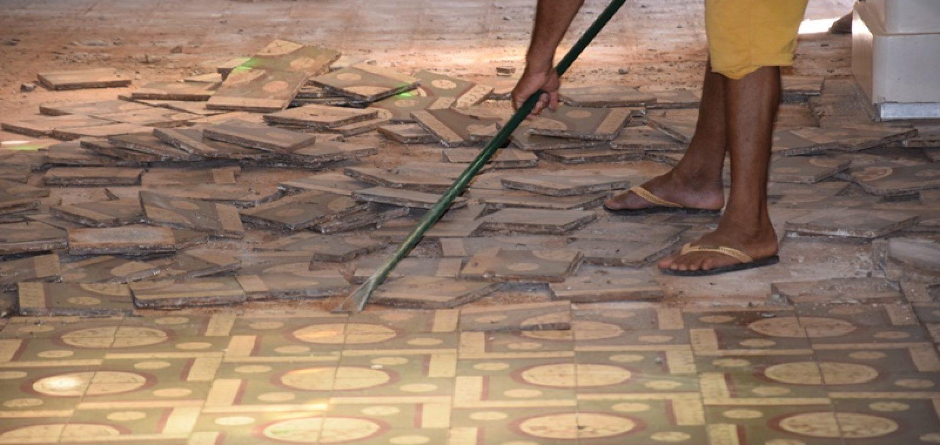 Ministério Público recomenda paralisação da troca do piso da catedral de Picos em 24 horas