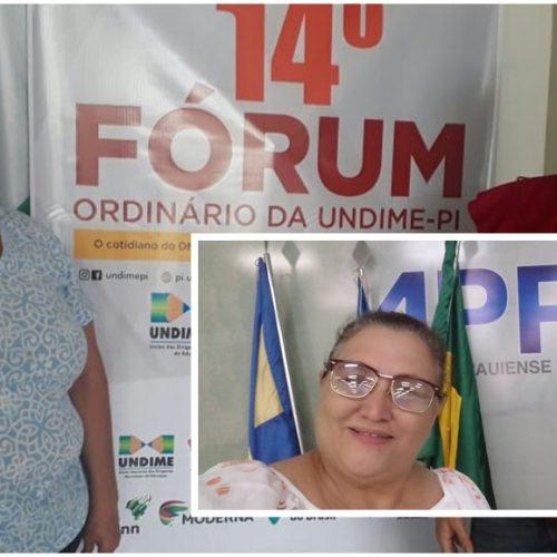 Em busca de melhorias, Educação de Vila Nova participa do 14º Fórum da UNDIME e do VII Encontro dos Conselhos