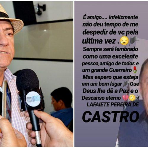 MARCOLÂNDIA | Prefeito decreta luto pela morte do ex – prefeito Lafaiete; velório será marcado por missa e sessão na Câmara. Veja!