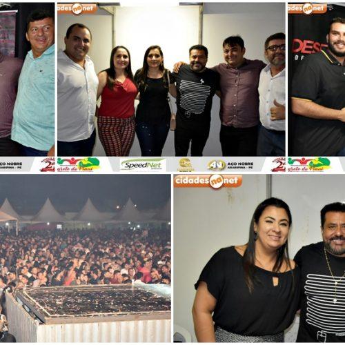 Três grandes bandas de forró comemoram os 27 anos de Alegrete do Piauí; prefeito avalia evento e agradece