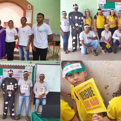 Campanha em combate ao Aedes Aegypti é realizada em Curral Novo do Piauí