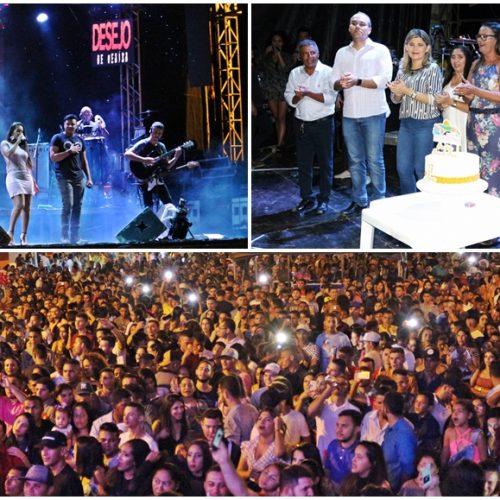 FOTOS   Festa do 27º aniversário de Patos do Piauí