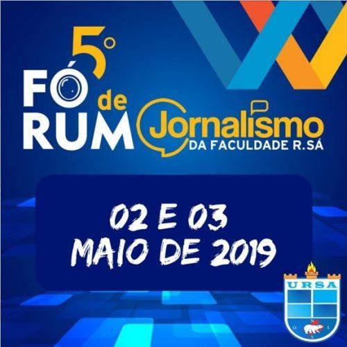 Inscrições abertas para o 5º Fórum de Jornalismo; confira programação