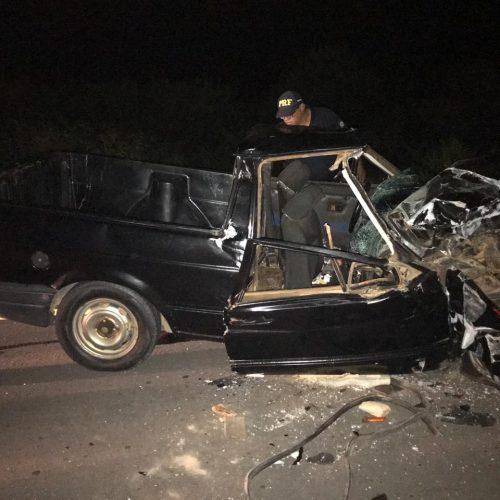 Idosa de 71 anos morre após grave acidente na BR 135, no Piauí