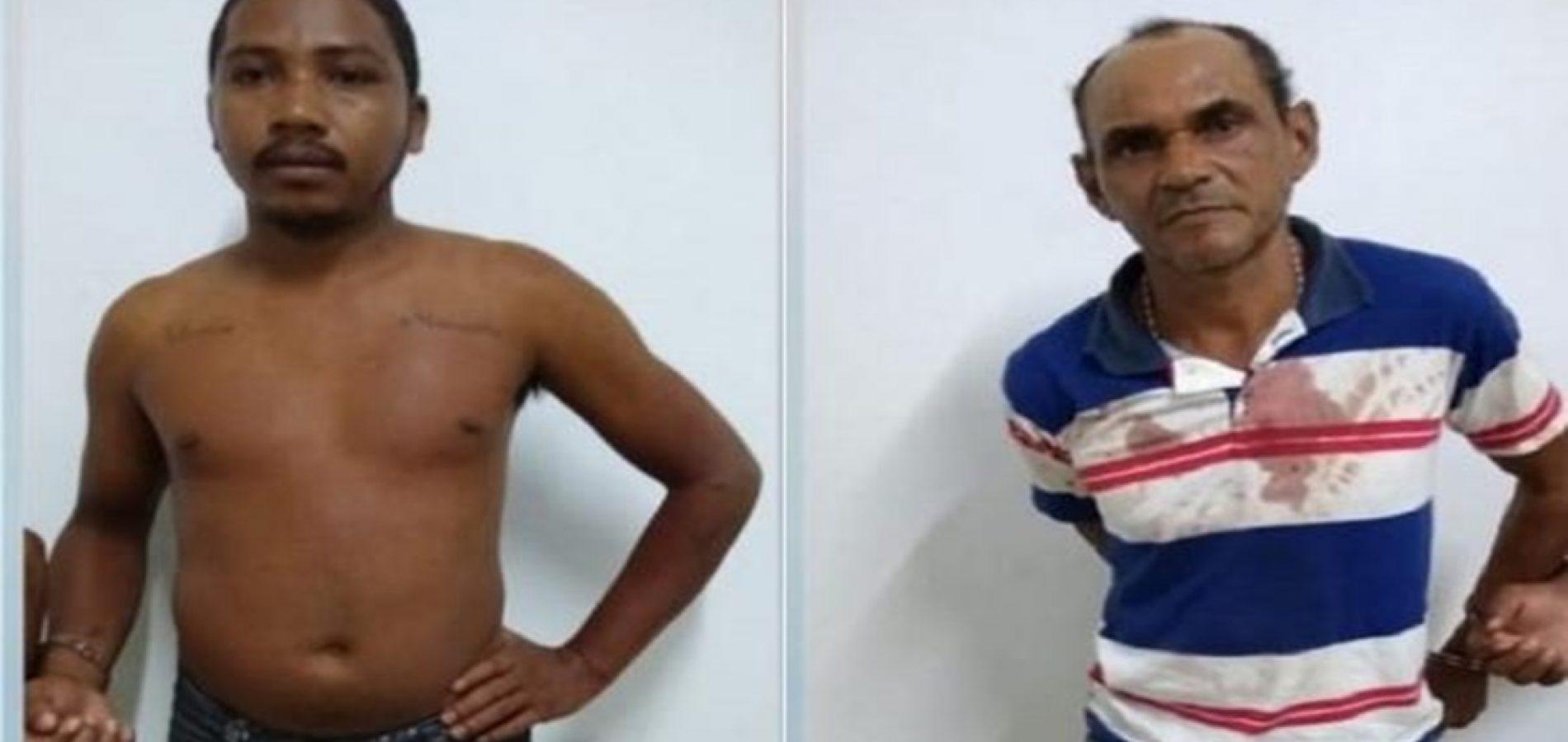 Dois homens são presos após agredirem suas esposas durante bebedeira