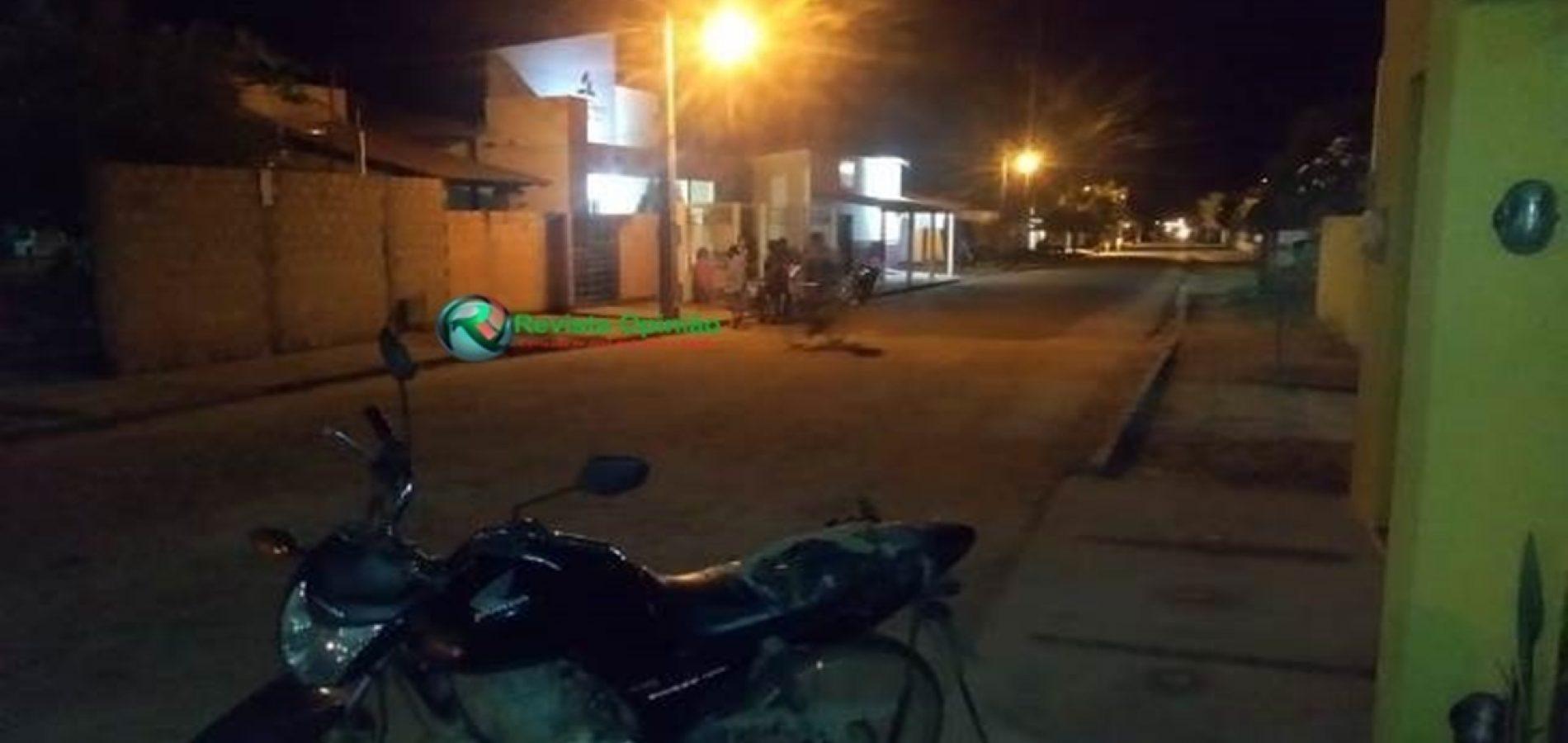 Adolescente em moto atropela criança de oito anos em cidade do Piauí