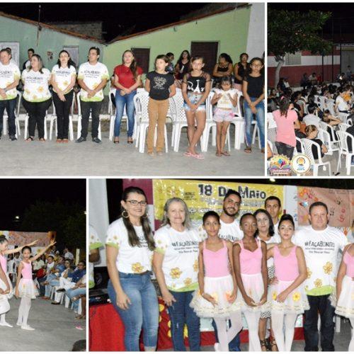 Ações do 18 de maio marcam encerramento da 10ª Semana do Bebê em Vila Nova do PI; fotos