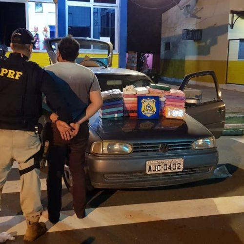 Em Picos, homem é preso transportando cocaína avaliada em mais de R$ 1 milhão