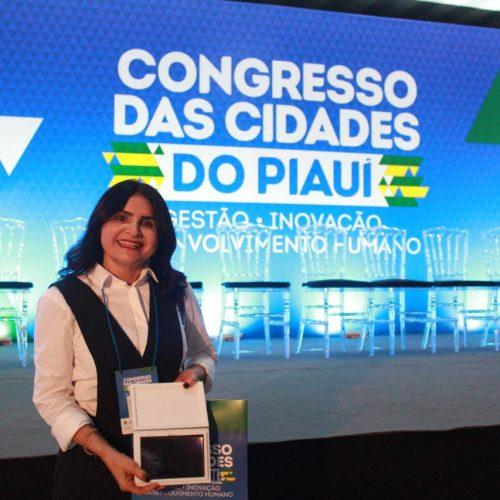 Prefeita de Pio IX conquista segundo lugar no Prêmio Prefeito Empreendedor 2019; fotos