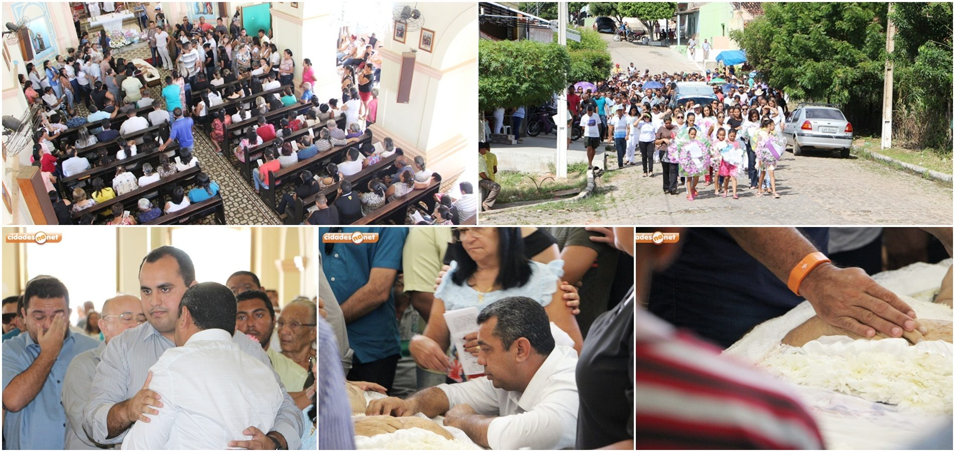 Familiares e amigos dão último adeus a Dona Edite, mãe do prefeito de Jaicós; fotos!