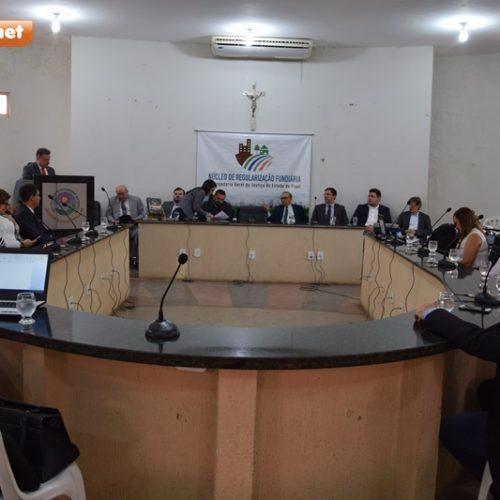 Corregedoria Geral do Estado vem a Picos para debater regularização fundiária urbana e rural