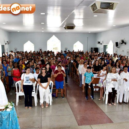 SÃO JULIÃO | Gestão de Dr. Jonas comemora Dia das Mães com missa, brindes e lanches. Veja fotos!