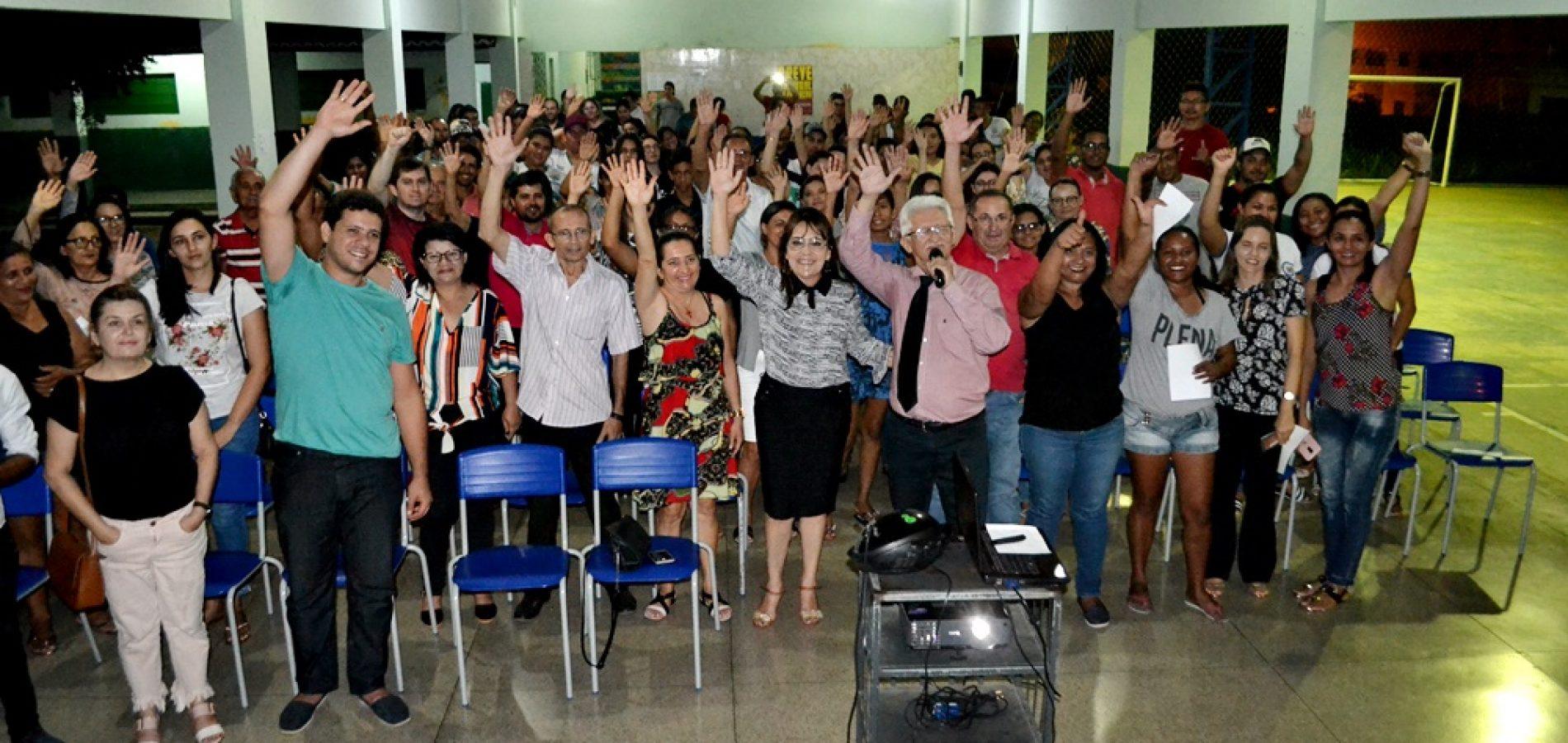 Em Pio IX, Mury Campos ministra palestra motivacional e marca abertura da Semana do MEI 2019; fotos