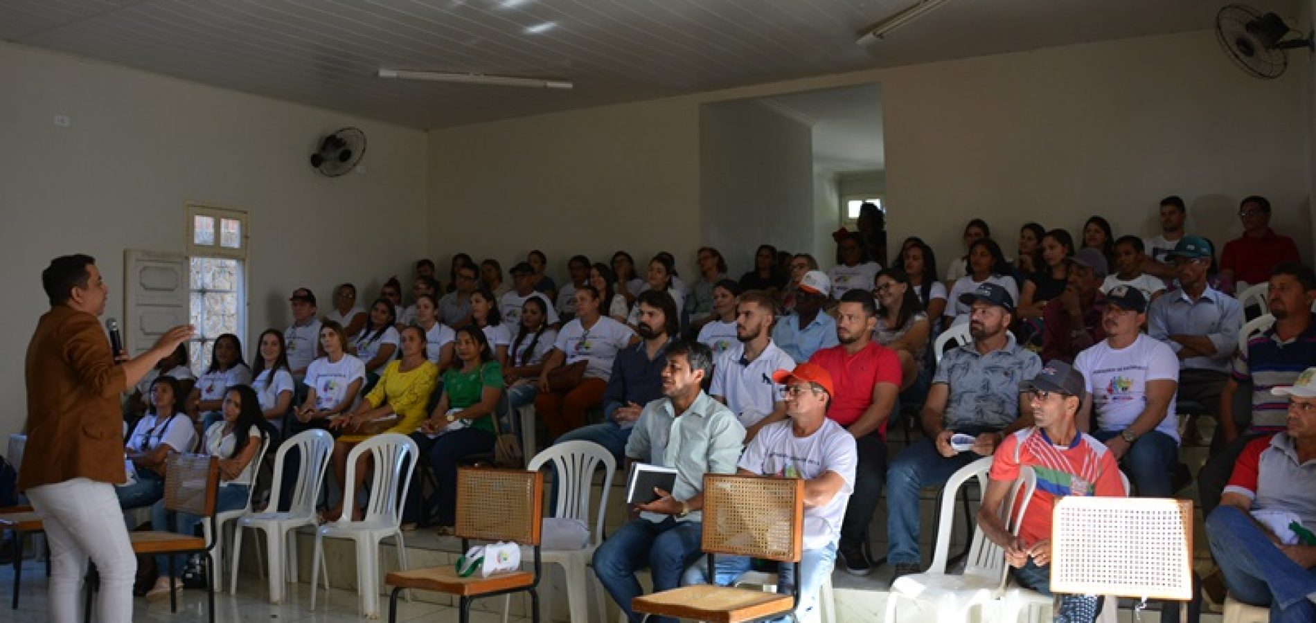 Palestra Motivacional Abre I Seminário De Saúde Em Jacobina