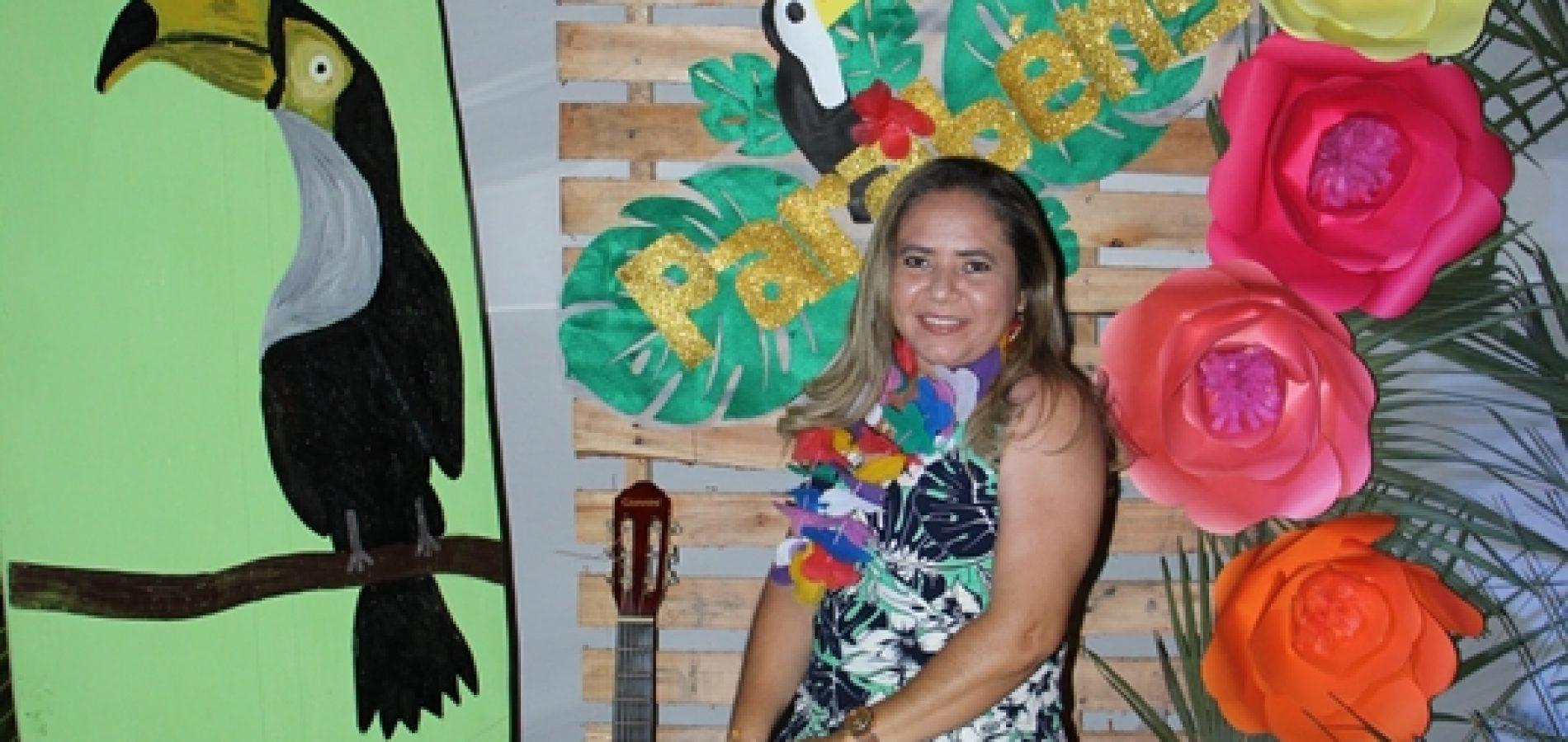 """JAICÓS   Escola Pequeno Polegar promove """"Noite Tropical"""" e homenageia mães ; fotos !"""