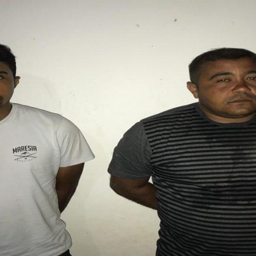 Força Tática de Valença prende irmãos envolvidos no roubo a banco