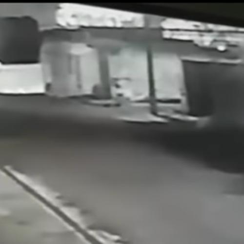 Depósito de bebidas é roubado duas vezes em 24 horas;vídeo