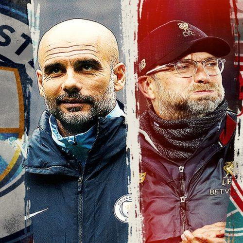 Domingo (12) tem Manchester City x Liverpool: um jogo histórico
