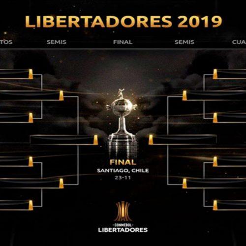 Libertadores terá Palmeiras x Godoy Cruz e Flamengo x Emelec nas oitavas