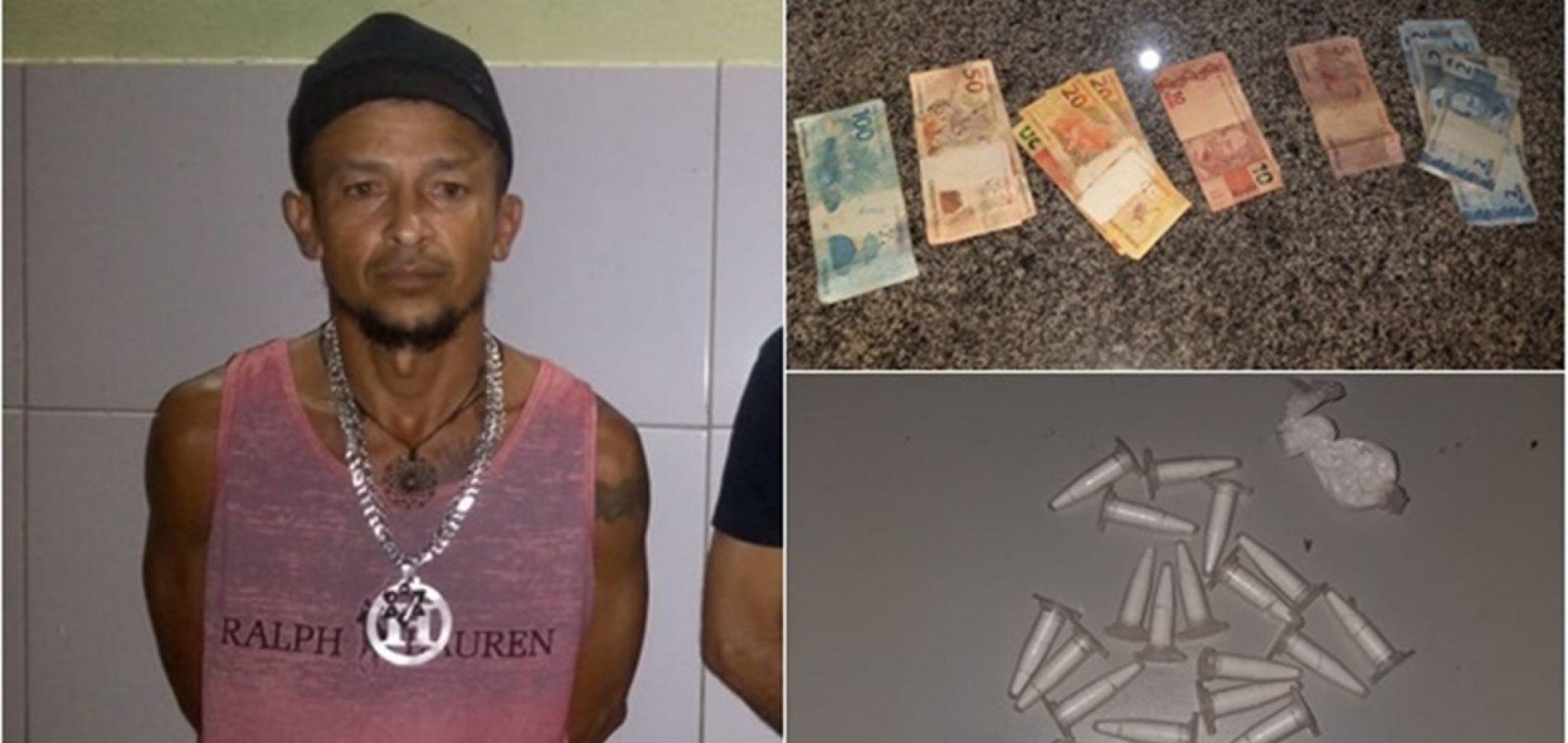 Vídeo: preso por tráfico, homem queima dinheiro e faz churrasco após ser solto no Piauí