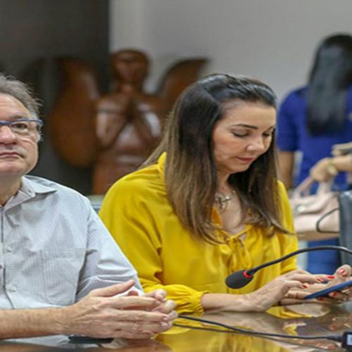 Reitor da UFPI se reúne com bancada federal e pede ajuda para desbloquear recursos