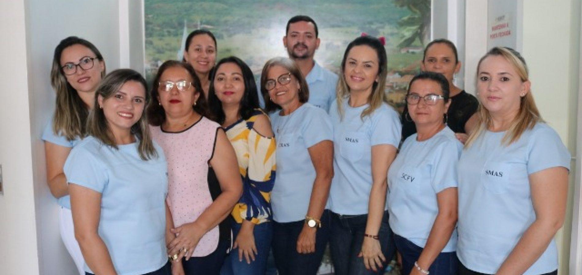 Voluntários da SMAS de Santana do Piauí realizam doação de sangue