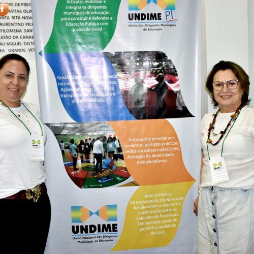 Secretária de Educação e supervisora de ensino de Fronteiras participam do 1º Seminário de Avaliação do SAEB em Teresina